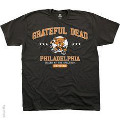 New Grateful Dead Spaced at The Spectrum Philadelphia Hockey Bear T-Shirt