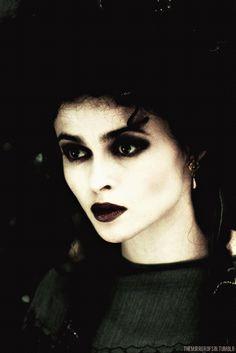 Helena Bonham Carter as Morgan le Fay in 1998's Merlin.
