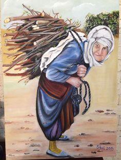 Karadeniz kadini Ancient Egypt Art, Art Village, Girl Photography Poses, Beautiful Paintings, Art Drawings, Beautiful Pictures, Street Art, Watercolor, Illustration