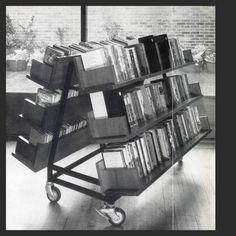 bluecote — movable bookcase