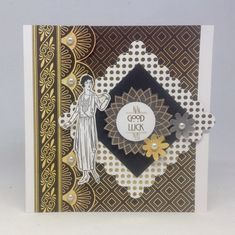 Card made using Art Deco Collection with Glimmer and Shine Toppers, made by Julie Hickey www.craftworkcards.com