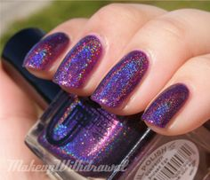 Glitter Gal Bruised Ego  buy this at Beautometry.com