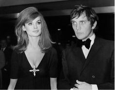 Jean Shrimpton and Terrance Stamp