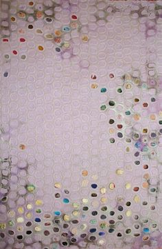 Textile Artists: 10 to Watch -- Atlanta-based artist Leisa Rich does a lot of work in mixed media. This delicately embroidered canvas is one of my favorites. Sculpture Textile, Textile Fiber Art, Textile Artists, Textiles Techniques, African Textiles, Japanese Patterns, Textile Patterns, Floral Patterns, Textile Design