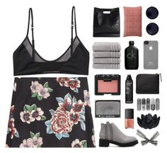 """"""""""" Roses at the door. """" / #lilisbirthdaychallenge"""" by centurythe ❤ liked on Polyvore featuring Clements Ribeiro, Monki, Christy, NARS Cosmetics, Calvin Klein, Incase, 3.1 Phillip Lim, Comme des Garçons, The Row and Muuto"""