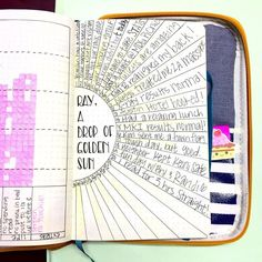Daily Gratitude, a great page for any bullet journal