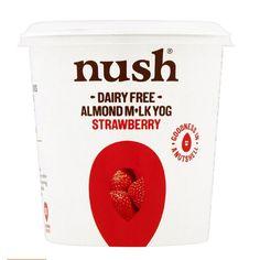 Nush Dairy Free Almond Milk Yog Strawberry 🙀 @sainsburys Vegan Friendly ✅ Dairy Free ✅ Gluten Free✅ #dairyfreevegan #dairyfree… Uk Supermarkets, Dairy Free, Gluten Free, Vegan Products, Sainsburys, Vegan Friendly, Almond Milk, Strawberry, Food
