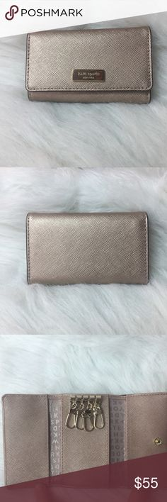 New Kate Spade Newbury Lane Rucy Leather Key Case This is a New Kate Spade ♠️ Newbury Lane Rucy Leather Key Case in the color Rosegold WLRU2305..   comes as seen in pic..    ⚡️fast shipping      🚬 free home 🛍 bundle discounts available  💰 great deals,  I accept reasonable offers! kate spade Accessories Key & Card Holders