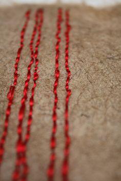 tramonto 2013, marocco polpa in juta cucitura in filo di sera vegetale