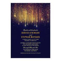 (Navy and Gold Wedding String Lights Invite) #Blue #Chic #Confetti #Elegant #Fancy #FirefliesWedding #Glamour #Glitter #Gold #GoldFoil #GoldLightsWedding #GoldWedding #Golden #HangingLights #Lights #LightsWeddingBackdrop #Modern #NavyAndGoldWedding #Shimmer #Shine #Sophisticated #Sparkle #StringLightsWedding #Stylish #Trendy #TwinkleLightsWedding #Vintage #Wedding #Whimsical is available on Custom Unique Wedding Invitations  store  http://ift.tt/2adMKAT #weddinginvitation #weddinginvitations