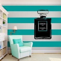 Coco Chanel Wall Vinyl Art