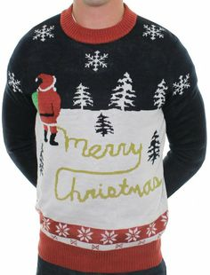 Amazon.com  Ugly Christmas Sweater - Yellow Snow Sweater by Tipsy Elves   Clothing e85ff6aaa5