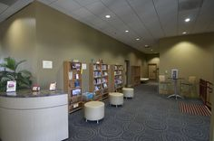 Update a church library.  Geneva, IL #lobby