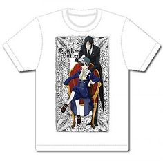 Black Butler T-Shirt - Sebastian & Ciel Chair