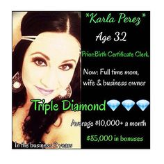 "Another awesome woman on my team !!!!! Why can't you do this?????? What's stopping you ??? Only $99 to join and give it 1 year to see what it will do for your life!! DISCLAIMER: The income statistics above are for all active It Works! Distributors who were eligible to earn downline commissions in 2013 . Income is defined as commissions received from It Works! and does not include income received from personal retail sales . ""Active Distributor"" is defined as a Distributor who earned at least…"