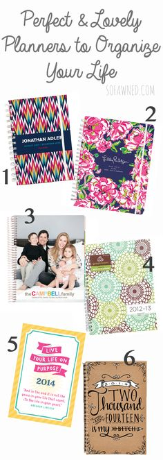 colorful planners and organizers001
