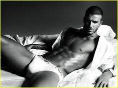 Melanie-   David Beckham for Armani underwear.  Advertising, celebrity endorsement, fashion, design, Armani