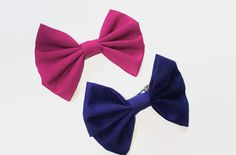 Check out this item in my Etsy shop https://www.etsy.com/uk/listing/510416910/fabric-hair-bows-purple-hair-bows-blue