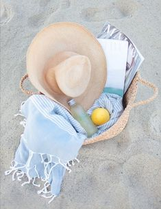 Get summer ready with the essential beach accessories.