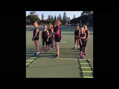 Nettyheads- Netball Footwork Ladders 1. - YouTube