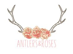 Antlers - love graphic without the roses
