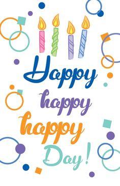 Happy Birthday card at pixingo.com/sue/cards