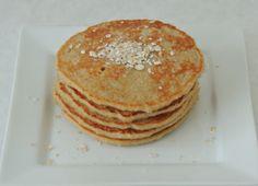 Zdravé lívance z ovesných vloček Griddle Cakes, Pancakes, Food And Drink, Yummy Food, Sweets, Healthy Recipes, Healthy Food, Homemade, Snacks