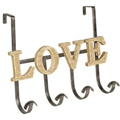Bessie Love Over the Door Robe Hook Brambly Cottage Coat Hanger, Wall Hanger, Bessie Love, Wooden Wardrobe, Hudson Reed, Striped Walls, Hook Rack, Coat Stands, Wall Mounted Coat Rack