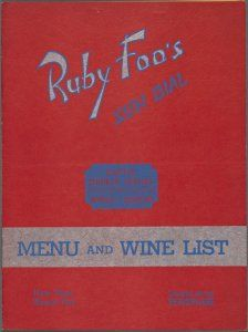 Whats on the menu? NYPL's collection of menus from the 1850s to the 2000s