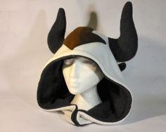 Fleece Appa Inspired Hood - Handmade Avatar the Last Airbender Hat - Made to Order