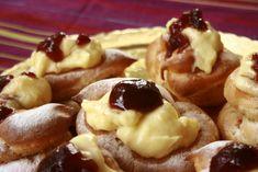Zeppole o bignè di San Giuseppe al forno
