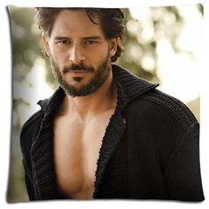 18x18 18'x18' 45x45cm floor pillow shell cases Cotton - Polyester Inspirational Hidden slide Joe Manganiello * See this awesome image  : DIY : Do It Yourself Today