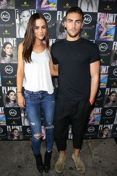 Tom Austen and Alexandra Park Photos Photos - (L-R) Alexandra Park and Tom Austen attend the Flaunt Magazine And AG Celebrate The LA launch Of The CALIFUK Issue At The Hollywood Roosevelt at Hollywood Roosevelt Hotel on October 14, 2015 in Hollywood, California. - Flaunt Magazine and AG Celebrate the LA Launch of the CALIFUK Issue