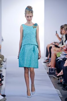 #fashionweek Oscar de la Renta Spring 2013
