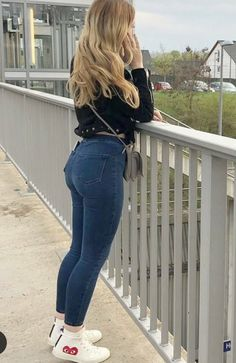 Sexy Outfits, Sexy Dresses, Stylish Outfits, Girl Outfits, Sexy Jeans, Skinny Jeans, Sexy Leggings Outfit, Looks Pinterest, Girls Jeans