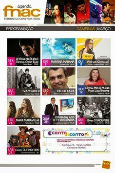 Fuxicos D'Avila: Agenda Fnac de eventos Culturais para todoshttp://fuxicosdavila.blogspot.com.br/2015/02/agenda-fnac-de-eventos-culturais-para.html