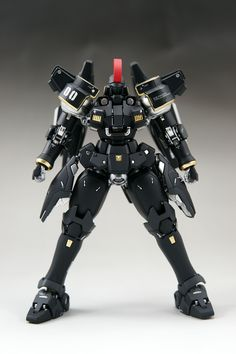 MG 1/100 Tallgeese Black - Painted Build     Modeled by Jacall646