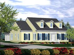 Plan No.291610 House Plans by WestHomePlanners.com