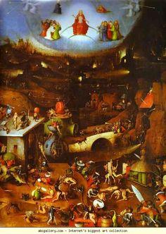 Hieronymus Bosch. Last Judgement. Always loved this picture