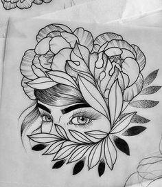 Pencil Art Drawings, Art Drawings Sketches, Tattoo Sketches, Tattoo Drawings, Art Tattoos, Bild Tattoos, Desenho Tattoo, Elephant Tattoos, Drawing Artist
