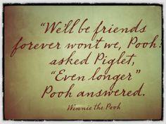 ...love Pooh...