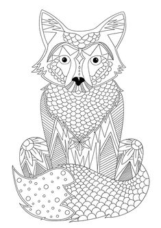 Blank Coloring Pages, Printable Adult Coloring Pages, Animal Coloring Pages, Coloring Sheets, Coloring Books, Doodle Coloring, Coloring For Kids, Mindfulness Colouring, Elephant Coloring Page