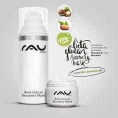 Beta Glucan Recovery Mask - Hilft deiner Haut sich selbst zu schützen >> http://www.amazon.de/dp/B00KBNURR2 mit wertvollem Macadamia- und Mandelöl - Ohne Mineralöle, Silikonöle und PEGs - Ohne Parabene - Ohne Parfum