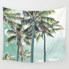 Under the palm tropical palm trees. Photo taken at Hamilton Island, Australia. Tropical, Summer, Hawaiian, vintage, retro and modern.