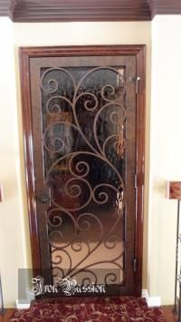 this would make a good track door for pantry and office doors :) or master bathroom door to outside. Art Deco Bathroom, Bathroom Doors, Master Bathroom, Large Framed Mirrors, Track Door, Small Bathroom Colors, Bathroom Design Layout, Shower Tile Designs, Door Gate Design