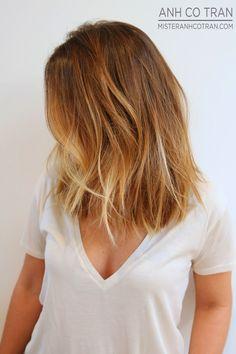 Love this cut & colour.