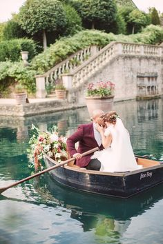 Boat - Orangery Wedding Venue Wiltshire Dress by Cherry Williams Flowers by Firenza Floral Design Images by Christina Sarah Photography