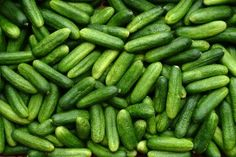 # vegetables I have such a pickle problem Green Fruit, Fruit And Veg, Fruits And Vegetables, Food Styling, Vegetable Pictures, Food Texture, Pickling Cucumbers, Veggie Tales, Fruit Garden