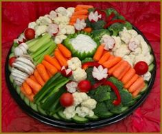 Fruit and veggies cold trays kabobs etc on pinterest fruit pizzas