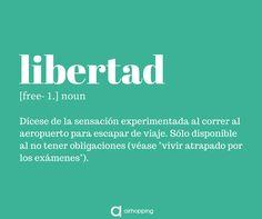 Como el sol cuando amanece yo soy libre... ✈️ #definición #libertad #free #diccionario #airhopper #airhopping #interrail #avion #definiciones #viajar #viajes #viaje #trip #consejos #tips #tip #examenes #escapar